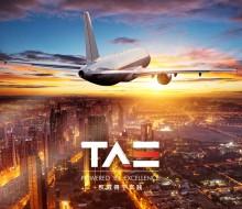 Infographie Premium – Entreprise Aéronautique – TAE